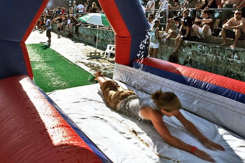 the slip-n-slide is back!