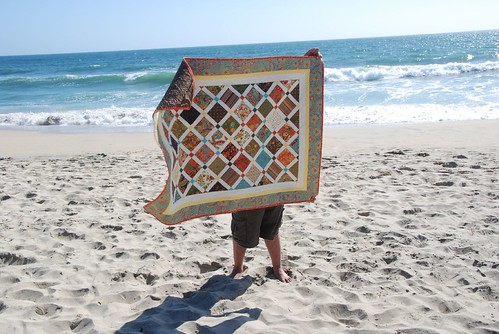 Front of Quilt at Half Moon Bay