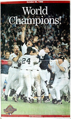 1996 World Series. Bronx, NY. The Journal News. Oct. 1996.