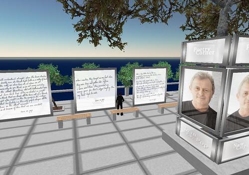 Ioan Es. Pop, Primul poet roman in Second Life