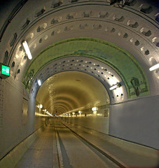 Elbtunnel Hamburg (Suzanne's stream(slowly coming back)) Tags: river germany hamburg tunnel fluss breathtaking elbe elbtunnel blueribbonwinner supershot 25faves aplusphoto superhearts autotunnel platinumheartaward