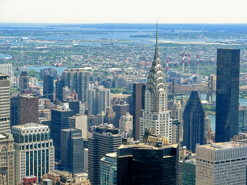Chrysler Building and environs by Randy OHC