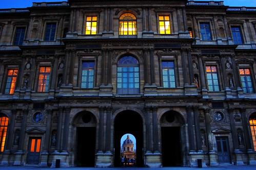 Du Louvre à L'Institut de France by snoopy31.