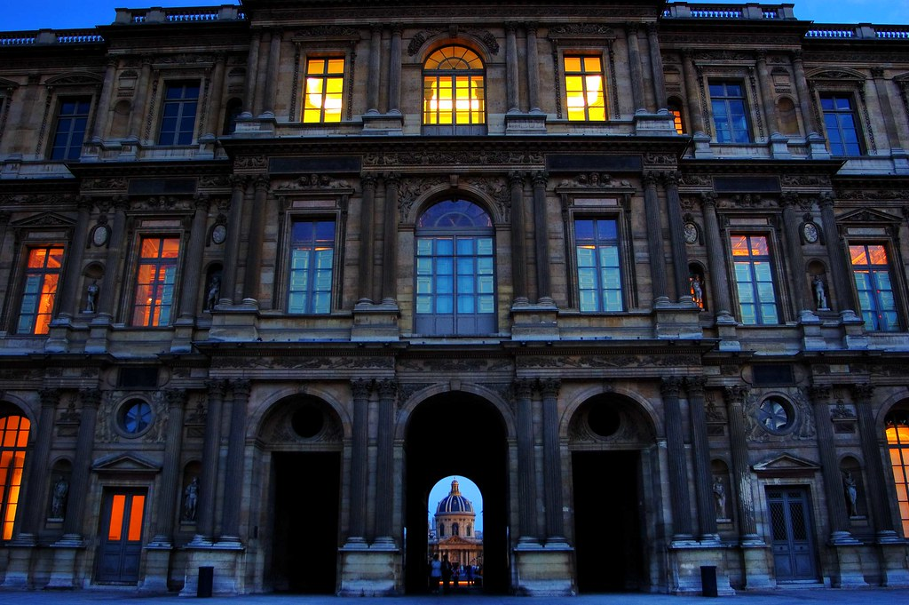 Du Louvre ŕ L'Institut de France