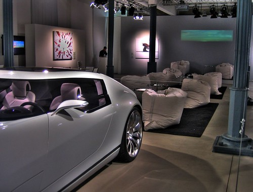 documenta 12 | SAAB-Lounge | AERO X HDR