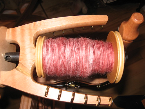 Dark Pink superwash merino
