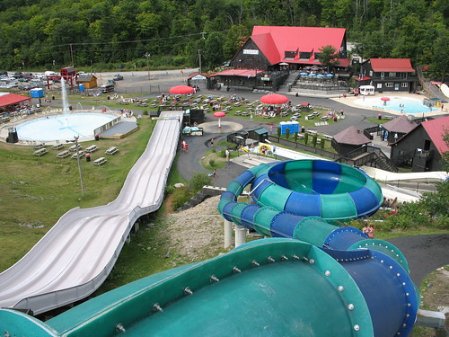 View from The Vortex at Mont Cascades