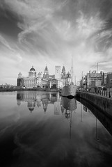 The Three Graces (Simon Sait) Tags: sky reflection industry water liverpool docks boat threegraces soe facebook liverbuilding albertdocks 10faves 25faves shieldofexcellence infinestyle diamondclassphotographer flickrdiamond photofaceoffwinner photofaceoffplatinum platinumheartaward pfogold thealbertdocks feb08pfobrackets thechallengefactory