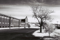 new norcia (electricnerve) Tags: film landscape eerie monastery infrared benedictine newnorcia