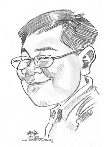 caricature for Hello Technology - 14