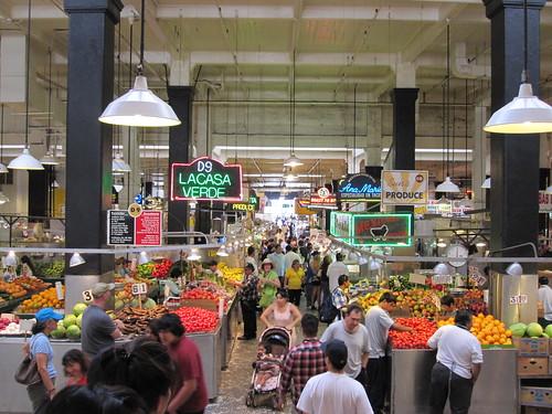 grand central market in LA