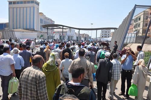 corte Fronterizo por Marruecos