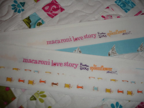 Macaroni Love Story Selvages!