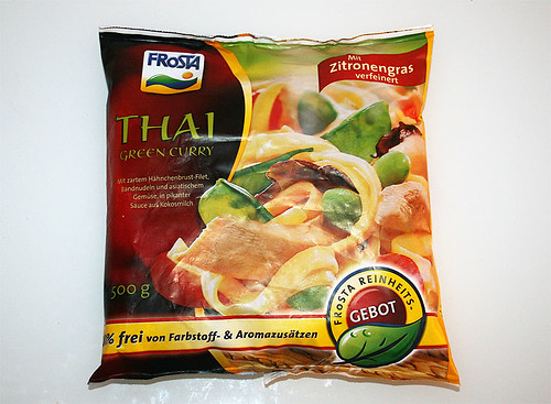 01 - Frosta Thai Green Curry - Packung vorne