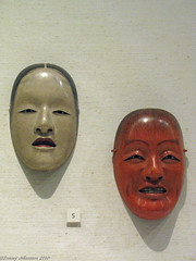 Noh masks (tommyajohansson) Tags: london geotagged mask masks bloomsbury bm britishmuseum faved nohmask nomask theatricalmask nomasks theatricalmasks nohmasks tommyajohansson japanesegalleries japanesetheatricalmask japanesetheatricalmasks brittiskamuseet
