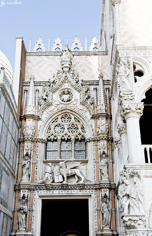 entrance to the Palazzo Ducale