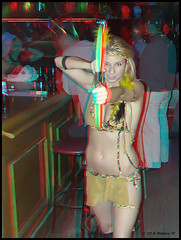 Cancun Cantina - Halloween '10 (starg82343) Tags: party woman cute sexy halloween beautiful lady female bar club fun costume stereoscopic 3d outfit md pretty slim adult skin gorgeous indian brian adorable makeup dressup maryland anaglyph indoors stereo fantasy linda bow blonde wallace inside arrow hanover delectable playful spunky loincloth bartenders servers built ashlee skimpy lucious pretend stereoscopy stereographic brianwallace stereoimage harmons adultplay cancuncantina stereopicture