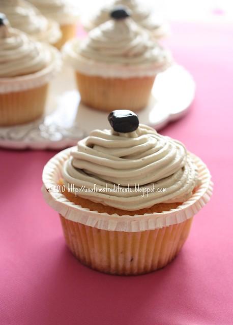 Cupcake alla liquirizia