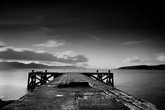 Tread carefully (lordoye) Tags: canon pier tread sigma1020mm cokin daytimelongexposure neutraldensityfilter graduatedneutraldensityfilter nd110 eos7d portencrossscotland