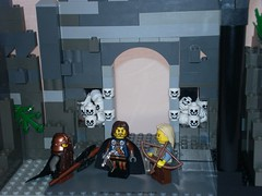Lord of the Rings Custom Lego Paths of the Dead