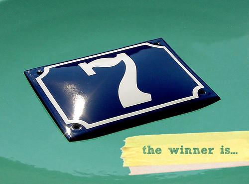 Ramsign giveaway winner
