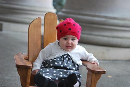 um, Mom, this hat clashes