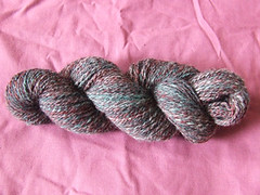 First plied handspun