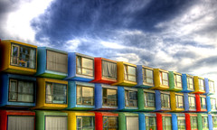 Living in a colourful box ((Erik)) Tags: house living bravo utrecht box thenetherlands colourful hdr uithof 3xp anawesomeshot superhearts erikvanhannen