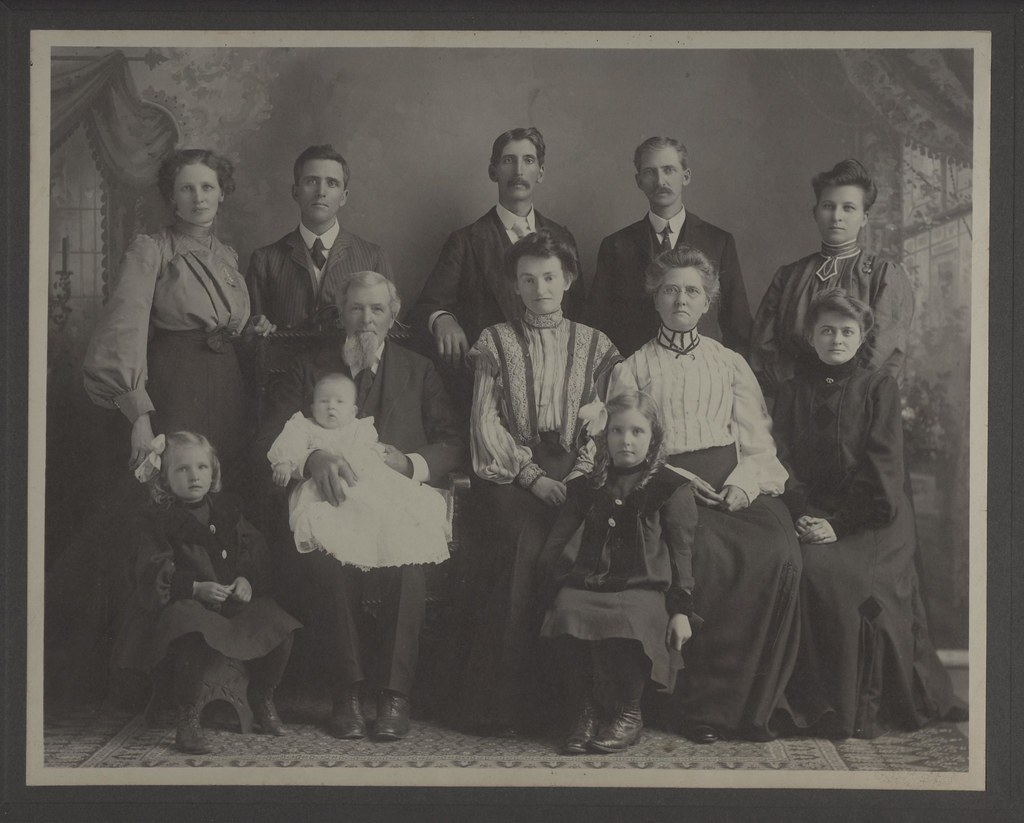Edmund Johnson and Family