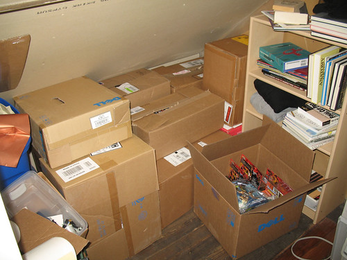 Packing up the Attic of Love