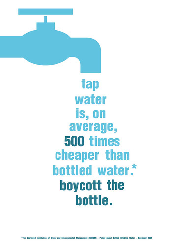 Boycott bottled water - campaign design by CowGummy.