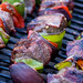 Shish Kabobs on Grill by aaron_j_o