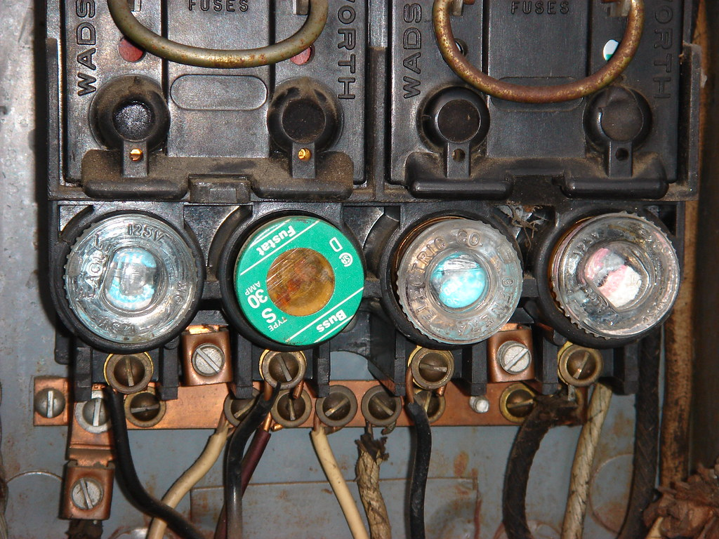 Antique Fuse Box With Fuses Home Electrical The World Best Photos Prime Flickr Hive Mind Hiveminer Com Old Amp