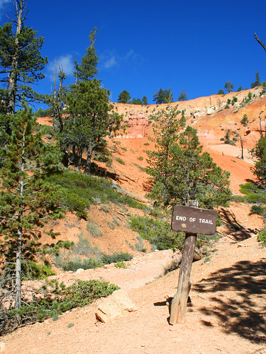 bryce canyon: end of trail