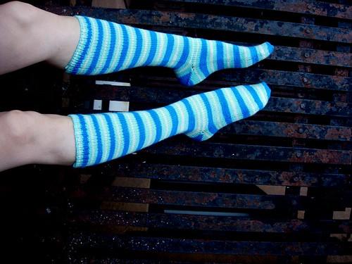 Yarntini sock club socks