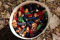 Bucket of Cartridges (Lyonheart) Tags: shell shotgun cartridge