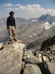 Erwin at the summit plateau (Brianz) Tags: rockclimbing highsierra tuolumnemeadows