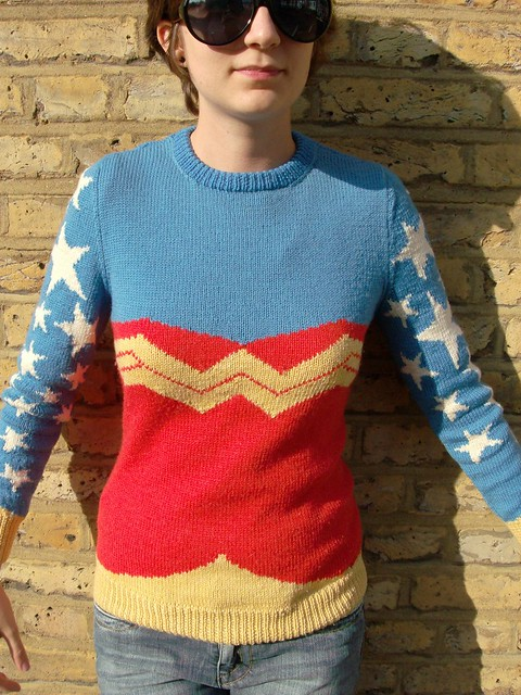 Wonder Woman Jumper by Kirsty Lothian (FREE)