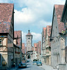 Rothenburg - Klingengasse and Klingenturm