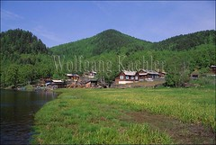 70005184 (wolfgangkaehler) Tags: house home forest landscape wooden quiet village russia hill peaceful tranquility siberia serenity siberian russian tranquil calmness taiga lakebaikal woodenarchitecture polovinka lakebaikalrussia taigaforest polovinkavillage