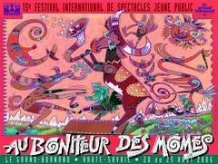 Affiche Festival Au Bonheur des Momes-2006