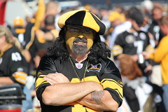 Steeler Polamalu Fan