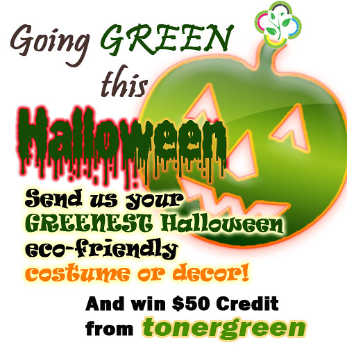 Green Halloween 2010 Contest - Tonergreen