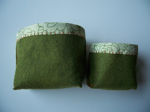 set of two - green