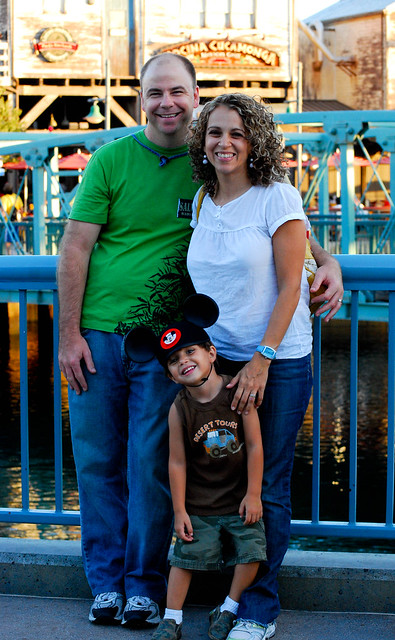 The 3 of us at California's Adventure