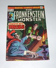 Frankenstein 8 (preemo) Tags: art monster book comic dracula frankenstein marvel versus