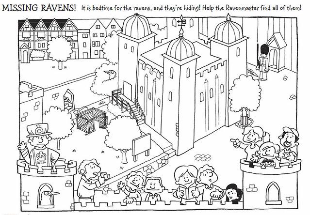 Corvos Torre de Londres