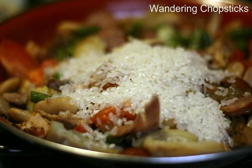 Paella Valenciana (Spanish Valencian Pan Rice) 10