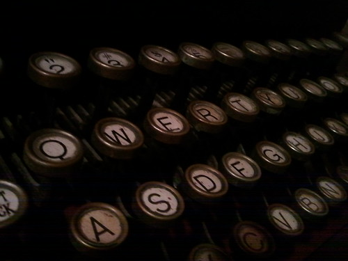Typewriter via Flickr