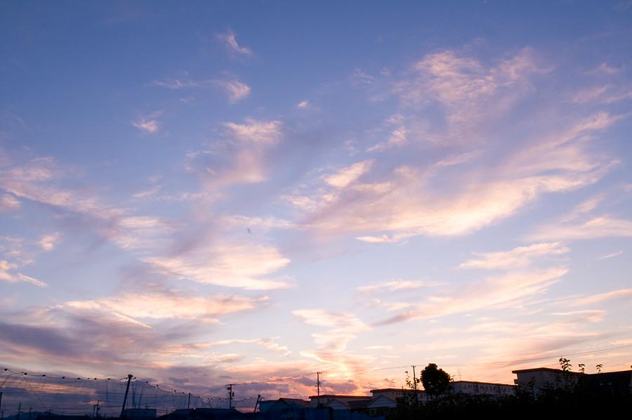 夕焼け|三重県津市